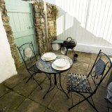 Dine outside on the patio