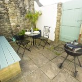 Enjoy a barbecue on the patio
