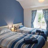 Twin bedroom Wills Cottage