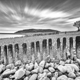Porlock in black and white