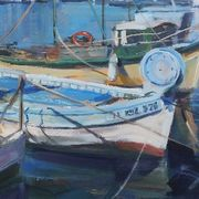 Fishing Boats in Toulon Harbour
