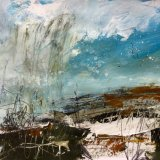 Winter fields, changeable weather, Fritwell