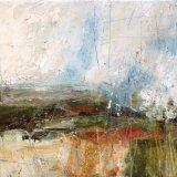 Rain and misty distance, Windmill Hill, Wincanton