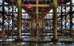 Underneath Worthing Pier