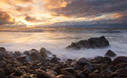 Sunset At Blackrock Beach