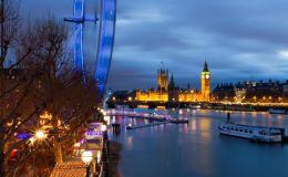 Dusk Over Westminster