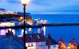 Whitby Harbour from The 199 Steps