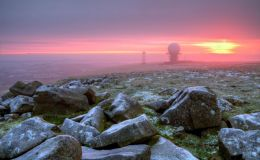 Frosty Dawn on Titterstone Clee