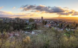 Sunrise Over Ludlow