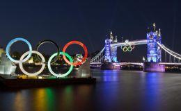The Olympic Rings & Tower Bridge