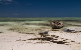 Fishing Boat on Matemwe Beach, Zanzibar