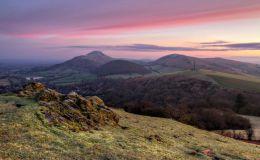 Winter Dawn from Ragleth Hill