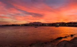 Sunset Over Dahab Bay