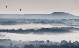 Misty Morning (Panorama)