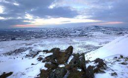 Titterstone Snowy Panorama