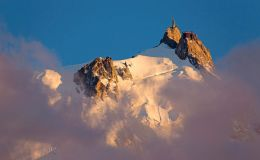 Aiguille Du Midi Above The Clouds