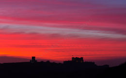 Dover Castle at Sunset