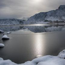 Cwmorthin Quarry in Winter