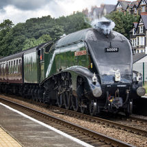 """Class A4 """"Union of South Africa"""" at Penmaenmawr"""