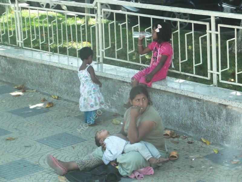 Beggar in Shkoder Centre