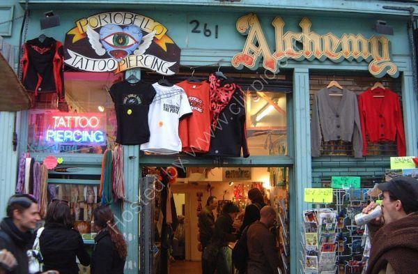 Alchemy, Portobello Road