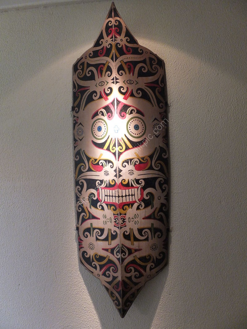 Typical Borneo Mask