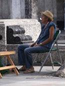Cuban Artist, Prado, Havana