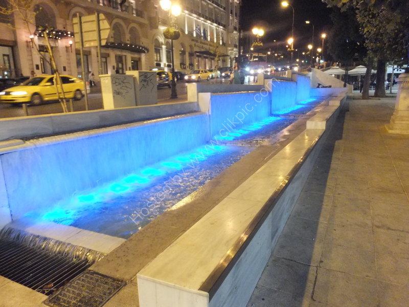Constitution Square at Night, Athens
