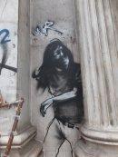 Graffiti everywhere in Athens