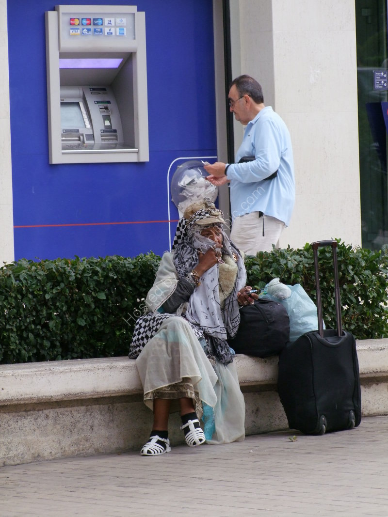 Bag Lady, Athens
