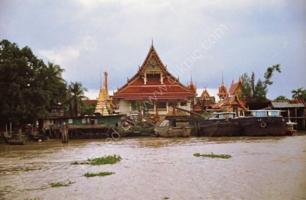 Traditional Building, Mae Nam Chao Phrayal River, Ayutthaya to Bangkok