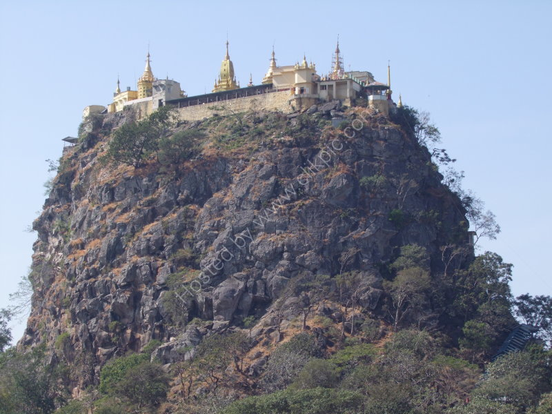 Mount Popa Pagoda