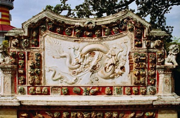 Detail, Chinese Pavillion, Summer Palace, Bang Pa In
