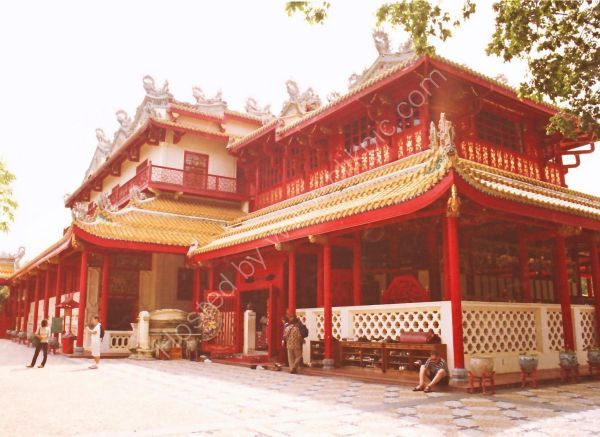 Chinese Pavillion, Summer Palace, Bang Pa In