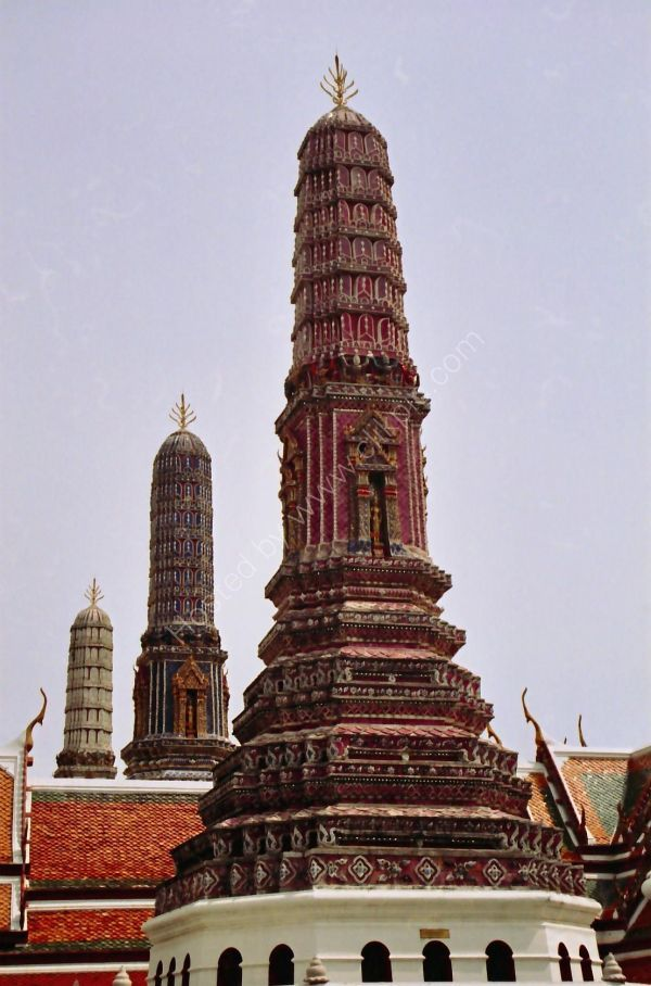 Chedi, Grand Palace, Bangkok