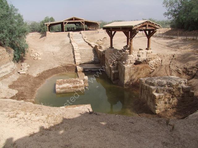 Supposed Place where Jesus Baptised, Bethany