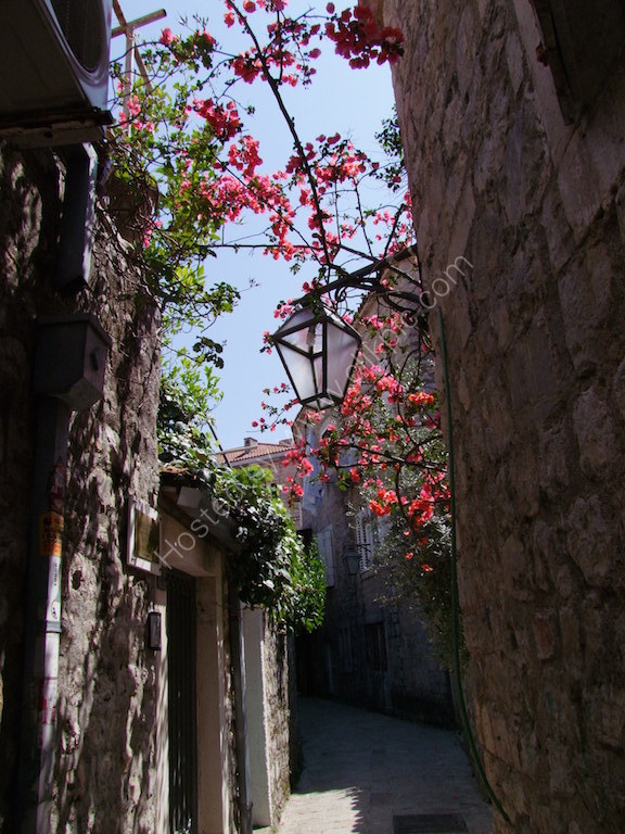 Street in Old Town Budva
