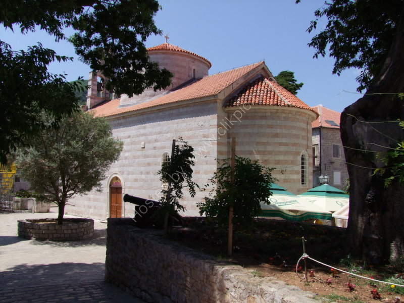 Church, Old Town Budva
