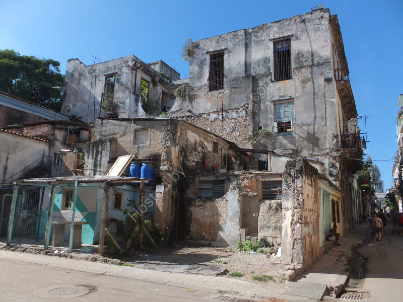 Buildings in need of demolishing