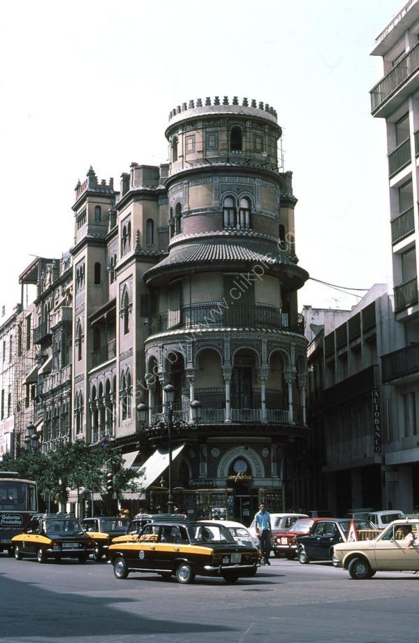 Typical Spanish Building, Seville