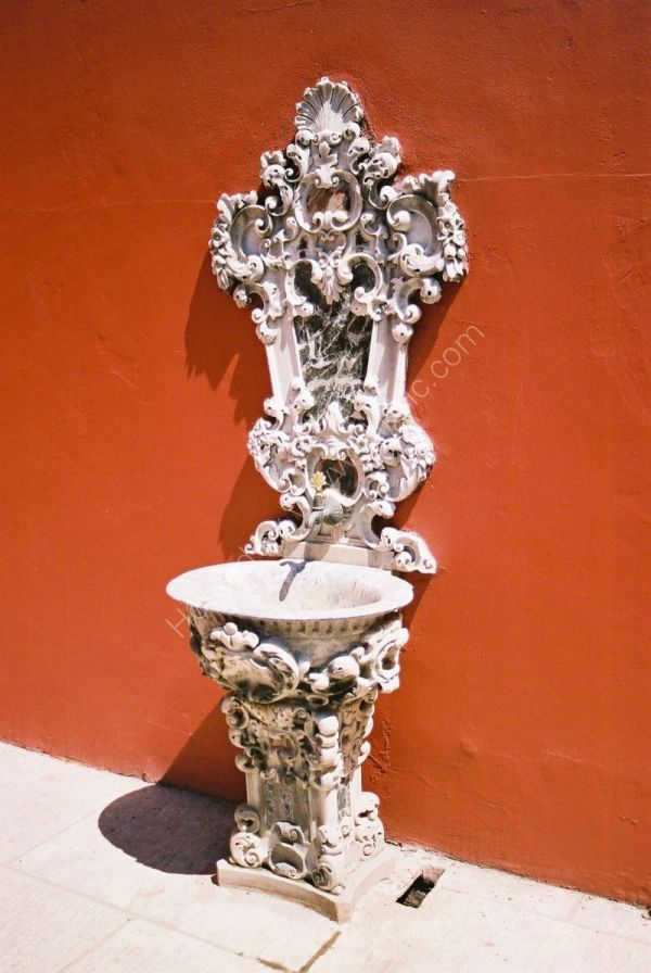 Water Fountain, Dolmabahce Palace, Istanbul, Turkey