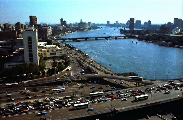Overlooking the Nile, Cairo