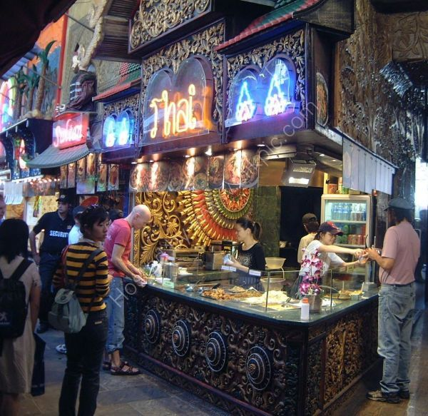 Thai Food Stall, Camden Lock