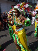 Nottinghill Carnival Dancer