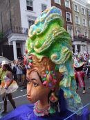 Nottinghill Carnival Mask