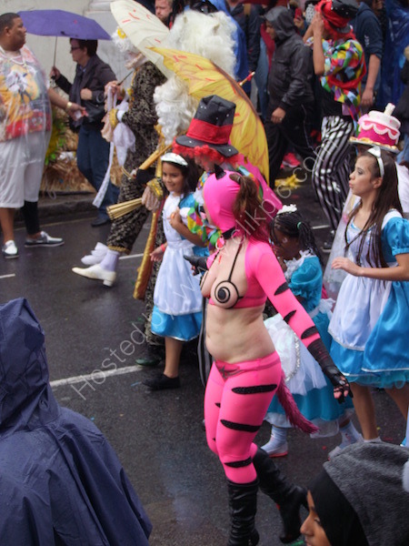 Beare berated Dancer, Nottinghill Carnival 2014