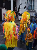 Dancers at Nottinghill Carnival 2014