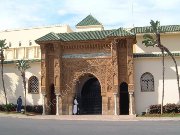 Gateway to King Hassan's Palace, Casablanca