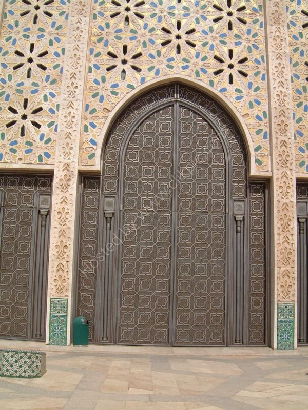 Bronze Doorway, Hassan II Mosque, Casablanca