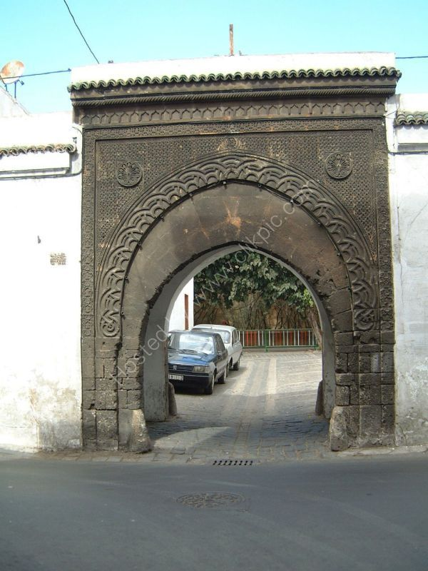 Archway to Side Street, Casablanca